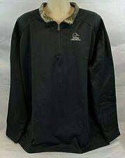 Ducks Unlimited 75th Anniversary Men's 1/4 Zip Pullover, Color: Black, Size 3 Xl