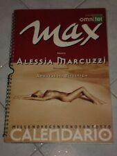 CALENDARIO MAX 1998 - ALESSIA MARCUZZI -