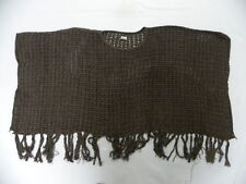 O'Neill Girls Connie Brown Poncho Sweater One Size