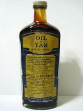 OIL OF TAR - 16 Fluid Ounces - Northrop & Lyman Co - Toronto Canada - Antique