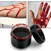 Halloween Blood Fake Wounds Scars Bruises Fake Blood Painting Good Makeup