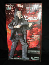 """2002 BBI Elite Force TERMINATE 1:6 Scale 12"""" Military Action Figure CARLOS - NEW"""
