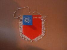 Fanion Birmanie / Burma