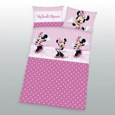 Herding Disney Minnie Mouse Linge de lit 40 x 60 cm + 100 x 135 cm