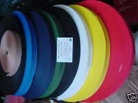 """5 METRE YOUR CHOICE OF COLOUR  OF OUR THICK STRONG UK  1""""  POLY WEBBING"""