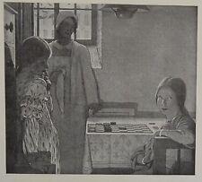 """Jeu D'Enfant"" by F. Cayley Robinson. The Studio, 1913."