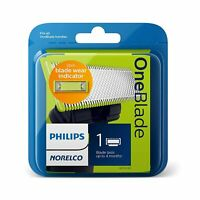 Philips Norelco QP210/80 OneBlade Replacement Blade 1 Pack Wet & Dry Use NEW