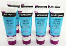 8 pack Neutrogena Triple Repair Fortifying Shampoo Damaged Hair 1 oz TRIAL SIZE