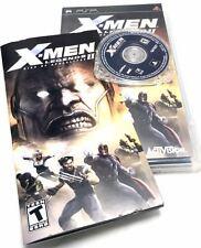 X-Men Legends II Rise of Apocalypse UMD PSP GAME COMPLETE CASE & MANUAL Sony PSP