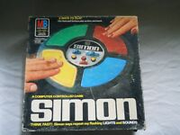 SIMON Electronic Game 1978 Milton Bradley With Box Made in USA 4850 Works