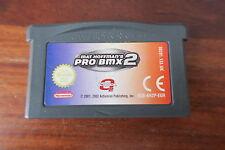 PRO BMX 2         -----   pour GAME BOY ADVANCE