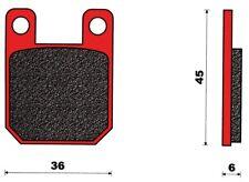151001 Cp. pastiglie T4Tune Peugeot XR6 E 50 AM6 Post. 50 2T 03 07