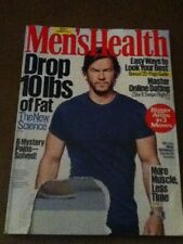 Men's Health Magazine September 2016 Wahlberg gym fitness workout muscle