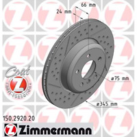 Bremsscheibe (2 Stück) COAT Z - Zimmermann 150.2920.20