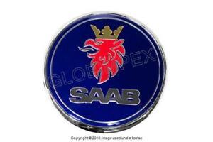 SAAB 9-3 9-5 (1999-2009) Hood Emblem GENUINE + 1 YEAR WARRANTY