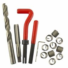 M12 x 1.25mm Thread Tap Repair Cutter kit helicoil 15pc set damaged thread AN0