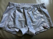 Crazy pants spandex shorts youth large cheerleading gymnastics dance volleyball