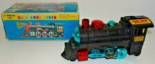 VINTAGE KANTO TOYS JAPAN #1500 CHOO-CHOO TRAIN WIND-UP TOY MECHANICAL & BOX