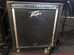 Peavey TNT 115 Bass Amp Combo Black Widow Speaker