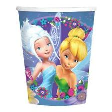 Tinkerbell and Fairies Best Friends 9 oz Paper Cups 8 Per Pkg Party Supplies