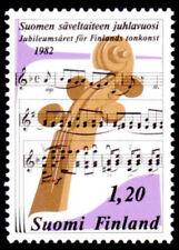 Finland 1982 Music Festival, Instrument & Notation, MNH / UNM