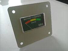 12v Voltmeter battery condition gauge level meter Elddis Swift caravan Zig