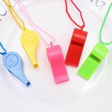 24Pcs Plastic Whistles Cheering Props Referee Whistle Sports Goods Kid Vocal Toy
