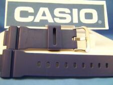 Casio Watch Band DW-9052 -2 blue Resin Strap 16mm.Original Two-Piece Watchband