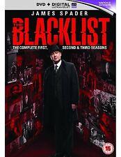 The Blacklist - Season 1-3 [DVD] New UNSEALED MINOR BOX WEAR
