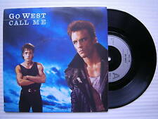Go West - Call Me / The Man in my Miroir,chrysalis gow-1 ex-condition 17.8cm