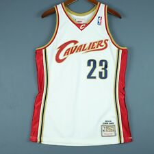 100% Authentic Lebron James Mitchell   Ness 03 04 Cavaliers Jersey 40 M Mens 89fba2af2
