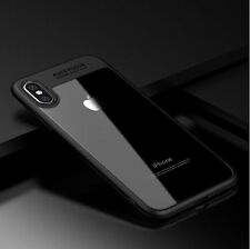 For iPhone X 10 Case Hybrid Clear Ultra Thin Shockproof Crystal Phone Hard Cover