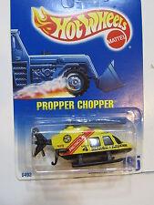 Hot Wheels 1991 PROPPER Chopper #185 Base Nera