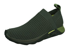 Merrell Range Laceless AC+ Mens Trail Running Slip-On Trainers Shoes Olive