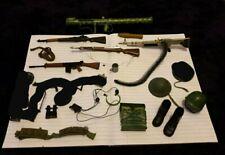 Joblot Vintage Palitoy Action Man Accessories Equipment guns helmet
