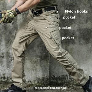 Hommes Tactique Cargo Extérieur Pantalon Militaire Travail Sport Paiintball