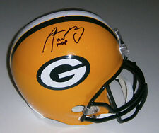 PACKERS Aaron Rodgers signed Full Size helmet w/ XLV MVP JSA LOA AUTO Autograph