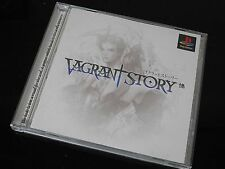 Vagrant Story - Sony Playstation  (ps1) japan squaresoft