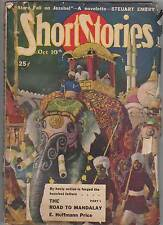 Short Stories A Man's Magazine Pulp- No. 1028 Jun 10th & No. 1025 Oct 10th 1948