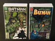 Batman Detective Comics Lot Of 21 Books, #s 684-728 ( Not Complete) DC Comics