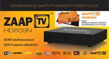 ZaapTV HD609N IPTV Receiver incl. 3 Jahre ZAAPTV GO - Arabic