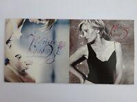 LOT 2 CD : PATRICIA KAAS - OU SONT LES HOMMES / JE LE GARDE [ CD SINGLE PROMO ]