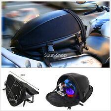 Motorcycle Bike Waterproof Sports Back Seat Carry Bag Luggage Tail Bag Saddlebag