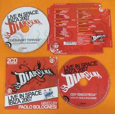 CD Compilation Diabolika Live In Space Ibiza 2007 RINO CERRONE no lp mc(C14)*