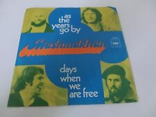 Mashmakhan as the years go by/ days when we are free  Dutch Psych  7 Inch