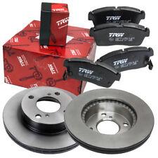 TRW Bremsscheiben Ø 231mm belüftet + Bremsbeläge vorne NISSAN PIXO 1.0 Bremse