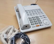PANASONIC KX-T7420 White Business Telephone 15 line hold scroll dial mute