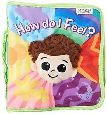 Lamaze High Contrast Cloth Book, How Do I Feel? Lamaze toys 0+ Free Ship