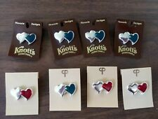 heart pins. Love /Friendship New, Lot of 8 Double