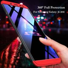 360 Full Body Hybrid Hard Armor Case Cover For Samsung Galaxy A6 Plus 2018 J6 J4